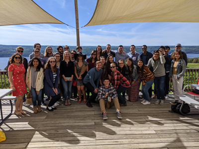 bmes group at 2019 wine tour