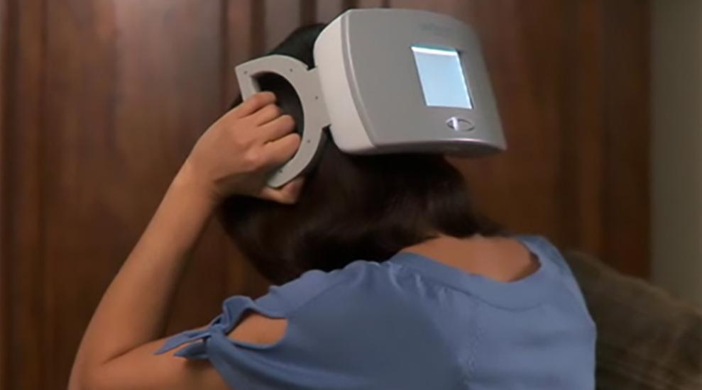 The second generation TMS device from eNeura