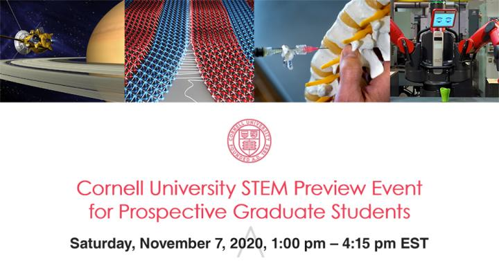 STEM Preview event flyer