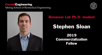 Stephen Sloan, Bonsasar lab Ph.D., 2019 Commercialization Fellow