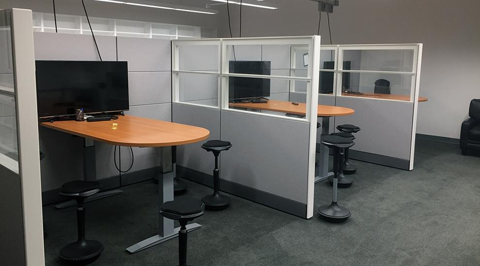 ideation conference cubicles