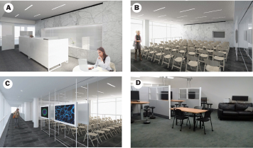 Design of the new Meinig School administrative suite